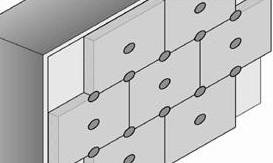 Nombre minimal et disposition des cheville nécessaires pour poser une isolation thermique par l'extérieur
