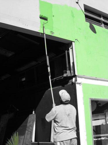 peinture solaire : Repeindre sa maison pour produire du carburant