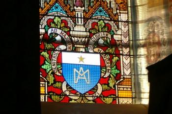 Restauration d'un vitrail à Metz