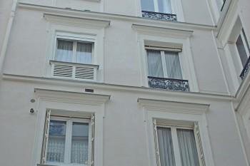 Réfection et ravalement d'un immeuble en pierre à Paris 75008