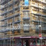 Location d'Echafaudage d'un immeuble sur Metz