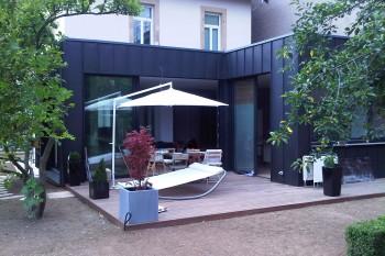 Agrandissement d'un pavillon sur Metz