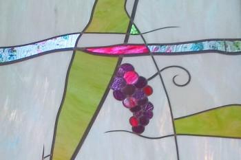 Création d'un vitrail contemporain