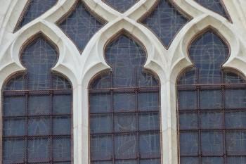 protections grillagées cathedrale de metz pour site