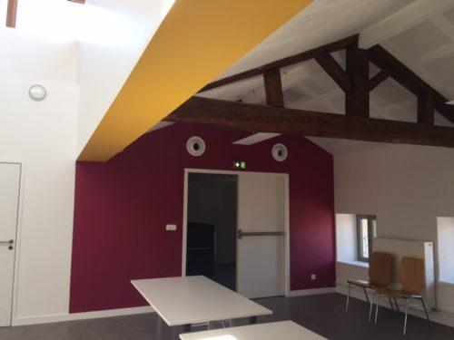 Une rénovation haute en couleurs pour la maison de jeunes de Pulnoy