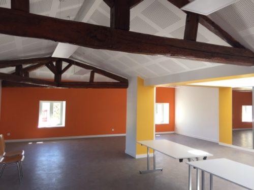 Rénovation intérieure colorée et dynamique par Salmon Nancy